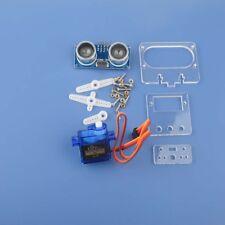 HC-SR04 Ultrasonic Distance Sensor +9G 180 Degree Servo + Mounting Bracket