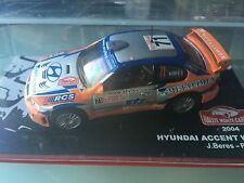 1/43 HYUNDAI  N°71 RALLY WRC MONTE CARLO 2004 MONTECARLO