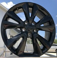"20"" JEEP GRAND CHEROKEE ALTITUDE BLACK WHEELS FACTORY OEM RIMS 2393"