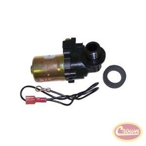 Windshield Washer Pump (Rear) - Crown# 36001132