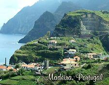 Portugal - MADEIRA  - Travel Souvenir Flexible Fridge Magnet
