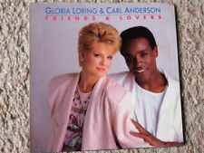 GLORIA LORING & CARL ANDERSON FRIENDS & LOVERS  45 RPM RECORD SLEEVE ONLY