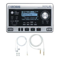 Boss Micro BR BR-80 with free BA-PC15 Earphones/Guitar Cable Set New