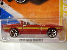 Hot Wheels '69 Shelby GT-500 2011 New Models Red