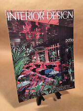 Interior Design Back Issue Magazine (PH1) - August 1975