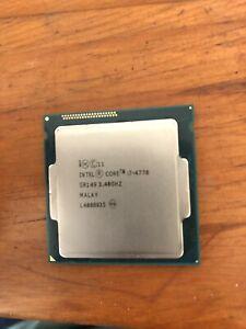 Intel Core i7-4770 Processor Quad Core 3.40GHz 8 Threads SR149 LGA1150 8M Cache