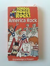 School House Rock! VHS America Rock I'm Just A Bill 1995