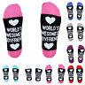 Men Women Unisex Boyfriend And Girlfriend Letters Funny Casual Sport Ankle Socks