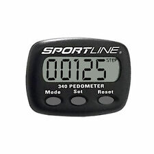 Sportline 340 Multifunction Pedometer - Step and Distance Walking Pedometers
