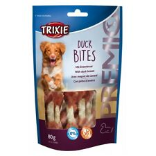 Trixie Premio Duck Bites (80g) - Rawhide Wrapped In Duck Breast