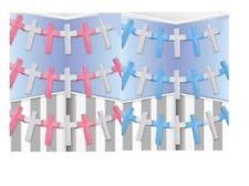 Pancartas y guirnaldas de fiesta de papel bautizo