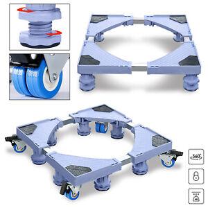 Waschmaschinen Untergestell Podest Sockel Unterbau Waschmaschinensockel 44-75cm#