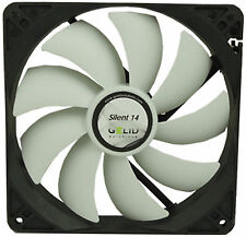 GELID Solutions Silent 14 140mm Case Fan 1000 RPM, 64 CFM, 21.0 DBA (fn-sx14-10)