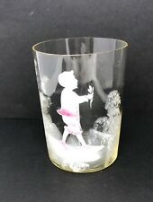 antique mary gregory tumbler