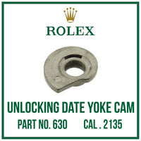 ♛ ROLEX Unlocking Date Yoke Cam, Quality Swiss Made Part No. 630 For Cal. 2135 ♛
