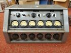 Microphone Preamplifier 6 channel Mixer w/ 6 HS-66 INPUT OUTPUT LINE MATCHING