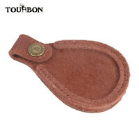 Tourbon Hunting Leather Toe Pad Shotgun Barrel Rest Clay Shooting Accessories