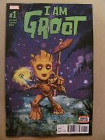 I Am Groot #1 Marvel 2017 Series Baby Groot Guardians of the Galaxy 9.6 NM+