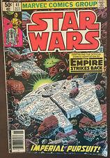 Star Wars Marvel Comics Group Volume No. 41;  50 cents 1980