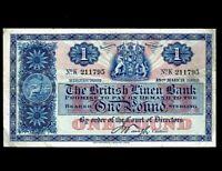 Scotland 1 Pound 1935  P-157a  FVF