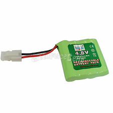 1 pcs 4.8V 1300mAh Ni-MH Rechargeable Battery Pack For RC vehicle Toy