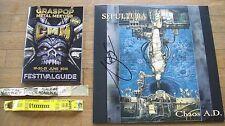 Sepultura – Chaos A.D. LP signed autographed Igor Cavalera