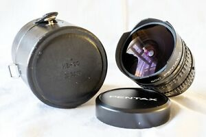 SMC Pentax-A 16mm F2.8 Fisheye, Caps, Case, Excellent Condition. Superb Build