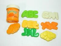 VTG Fisher Price Fun with Food Baby Mealtime Replacement carrots Jar Bananas Lot