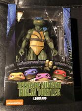 """NECA TMNT Teenage Mutant Ninja Turtles 7"""" Leonardo NIB"""