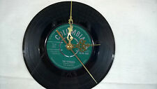 "THE SHADOWS The stranger 7""VINYL Wall Clock  Columbia 45-DB 4530"