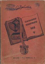 Catalogo GBC 1956 - Fonografia - Giradischi - Magnetofoni - Microfoni - Ricambi