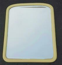 Very Nice Solid wood Enameled Framed Wall Mirror - BEVELED - GDC - PALE YELLOW