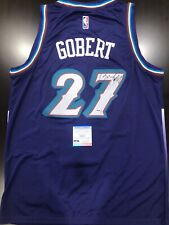 RUDY GOBERT Autograph | Signed Utah Jazz Classic Edition Jersey PSA/DNA COA