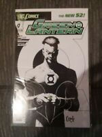 green lantern 1 new 52 sketch variant cover high grade copy and key book cgc rea