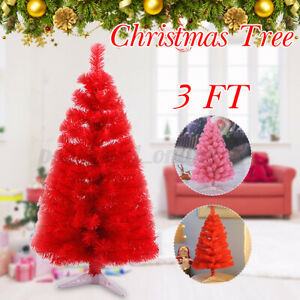 Christmas Tree with Stand 3FT Bushy Xmas Tree Indoor Artificial Home