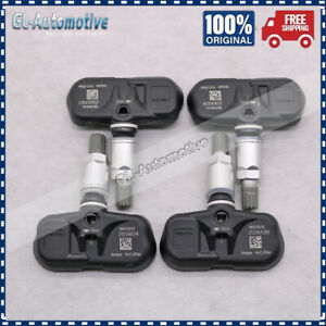 4x Tire Pressure Sensors 315MHz TPMS PMV-107J 42607-33021 For Scion Toyota Lexus
