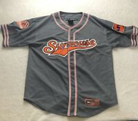 Syracuse Orange Baseball Jersey Men's Extra Large XL sewn patches Colosseum NCAA
