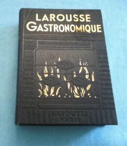 ancien livre LAROUSSE gastronomique année 1938 1087 pages de recettes de cuisine