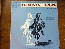 disque 33 tours BORDAS- le MISANTHROPE / MOLIERE avec Michel BOUQUET, G. PAGE,..