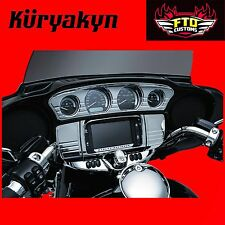 Kuryakyn Chrome Tri-Line Stereo Trims & Accents For '14-'17 Touring & Trike 7240