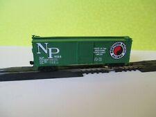 N SCALE TRAIN ATLAS CUSTOM NORTHERN PACIFIC DOUBLE SHEATHED BOX CAR