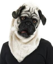 elope Mouth Mover Pug Mask Dog Costume Full Overhead Adult Mens Womens Unisex