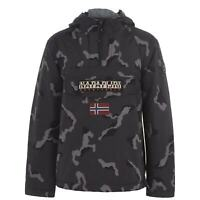 Mens Napapijri Rainforest Jacket Rain New
