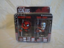 Neca SDCC Scalers Spider-man & Iron man 2 pack - comic-con exclusive figures BN