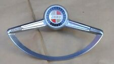 1963 1972 Jeep Steering Wheel HORN RING w/ BUTTON Original 930370