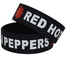 Red Hot Chili Peppers 25mm Silicon Rubber Wristband (RHCP)