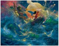 Disney Fine Art Limited Edition Canvas Sorcerer's Symphony-Fantasia-Coleman