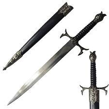 Sharp Stainless Steel Skull Design Short Sword Dagger Knife