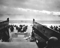 Official Historic Photo: Famous NORMANDY BEACH LANDING Military Navy WWII Europe