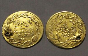 Mahmud genuine GOLD coin Cedid Mahmudiye Altin/Ottoman Empire Turkey Istambul 28